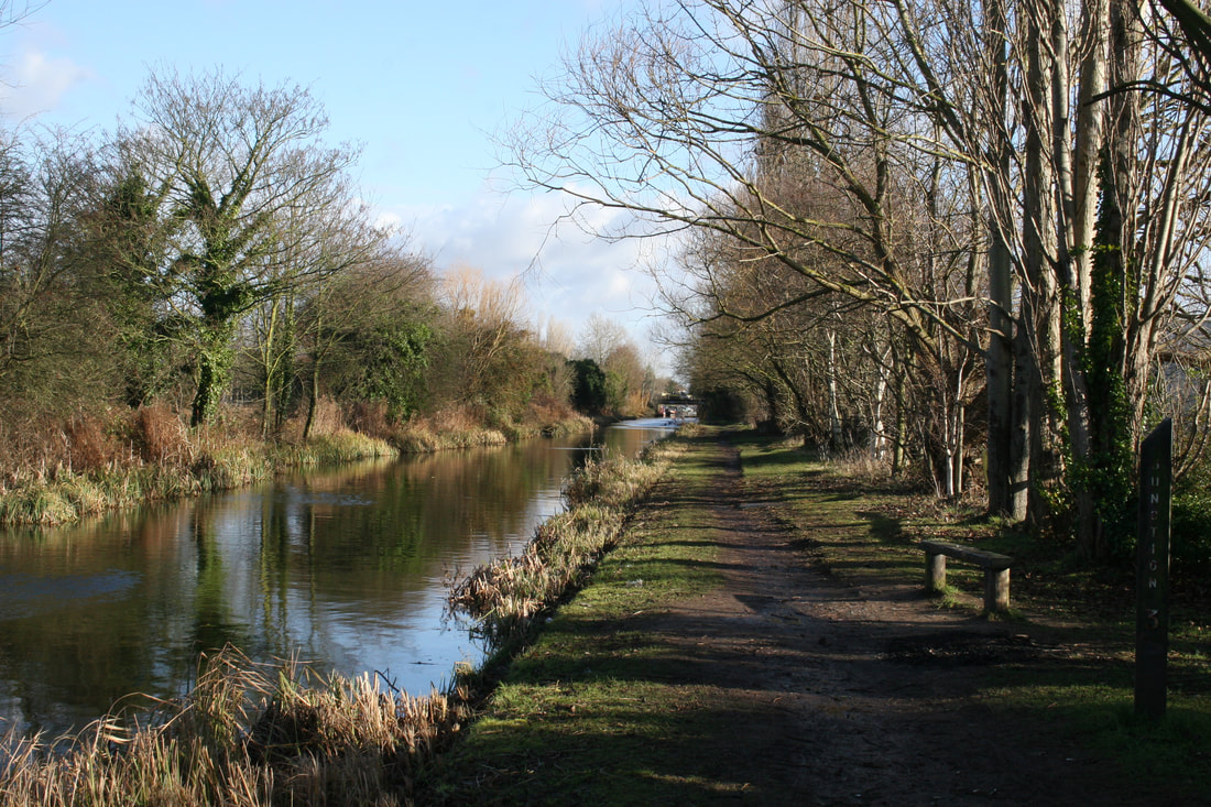 Slough branch Grand Union Canal